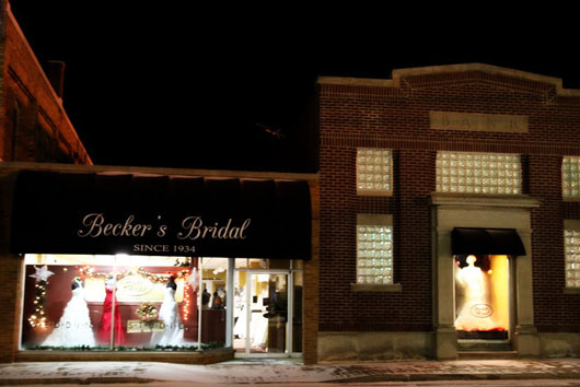 Becker's Bridal, a mainstay on Fowler's Main Street since 1934